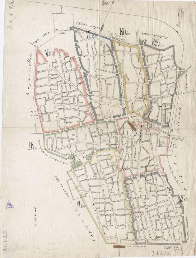 3-1-1-25 SZABADKA  VAROS 1874
