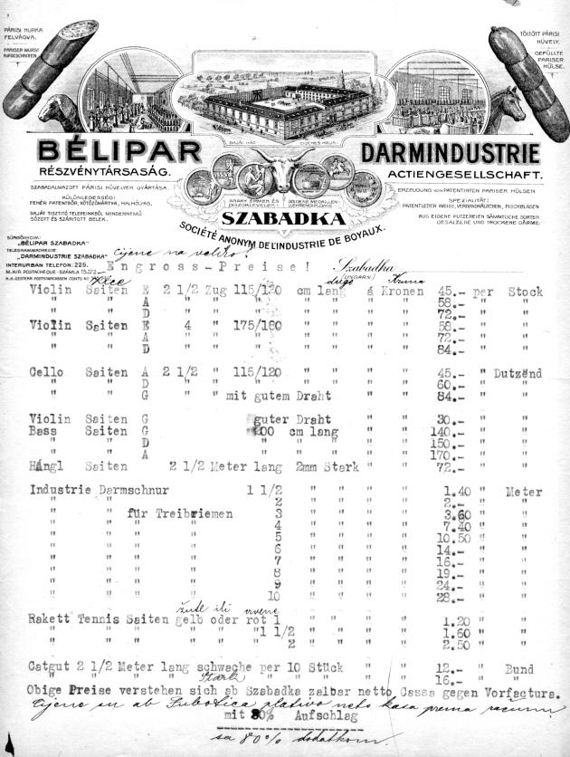 dd creva cene 1919