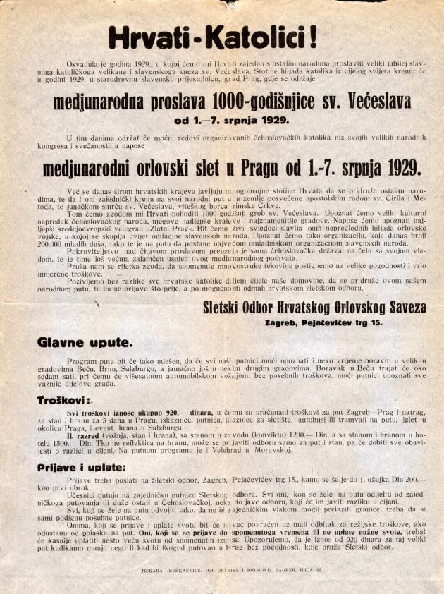 F 48. 1.62.1929 Prag plakat