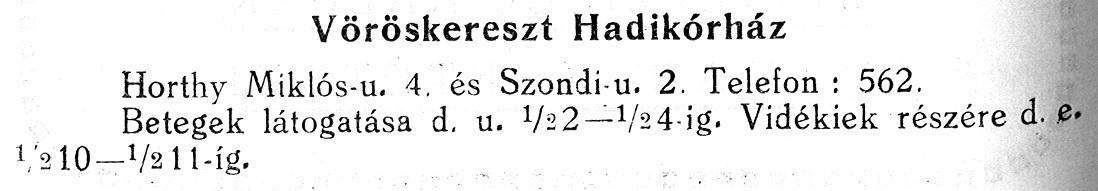 HADIKORHAZ