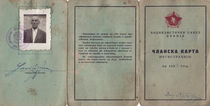 Ivan Saric legitimacijaa