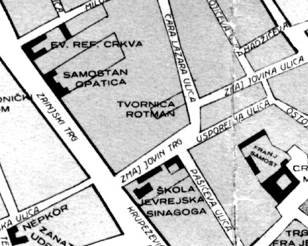 Rotman na karti 1928