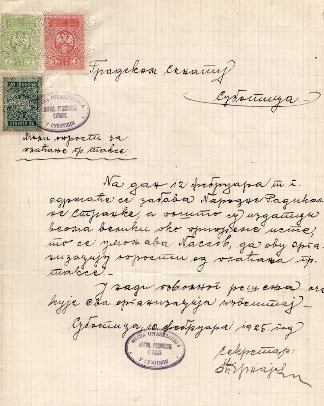 XIII 162 1925 MO RADIKALA