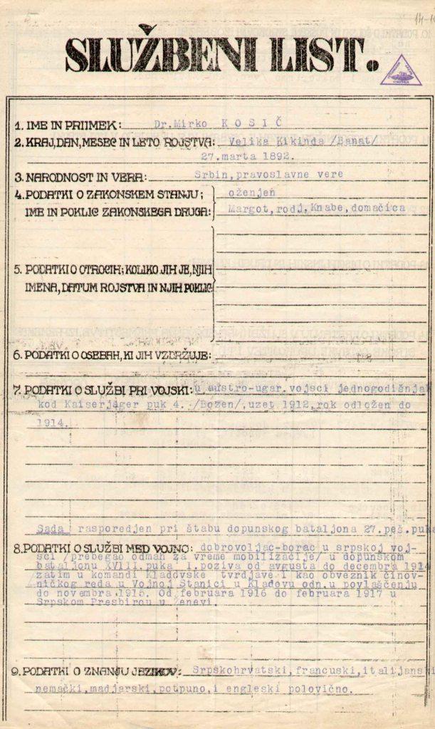 Sluzbeni list LJubljana