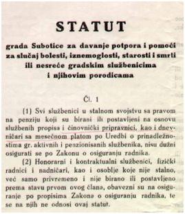 statut potpore