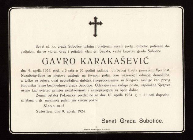 Gr 433 1924 posmrtnica Gavri