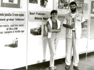 AUTORI IZLOZBE, STEVAN MACKOVIC I TATJANA SEGEDINCEV, 1995, izlozba