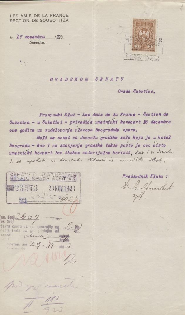 Francus club II183.1923