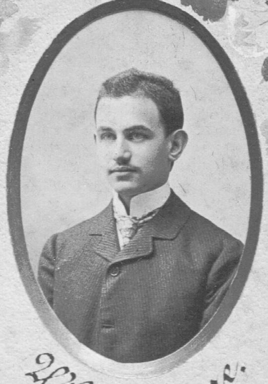 Vilhajm Imre maturant 1904