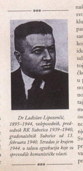 LADISLAV LIPOZENCIC