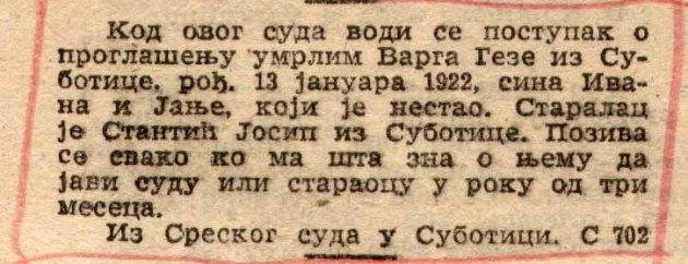SL list FNRJ br Geza