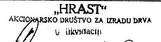 HRAST AD