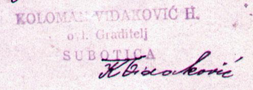 Ing Vidakovic III 143 1925