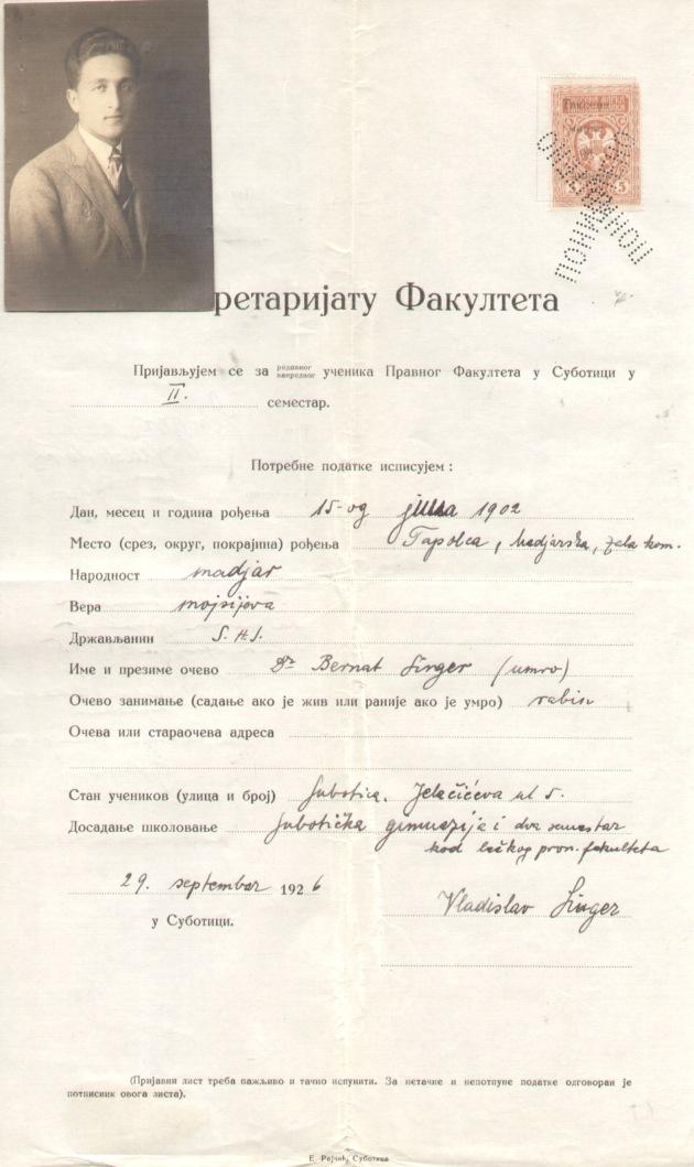 1926 I sem