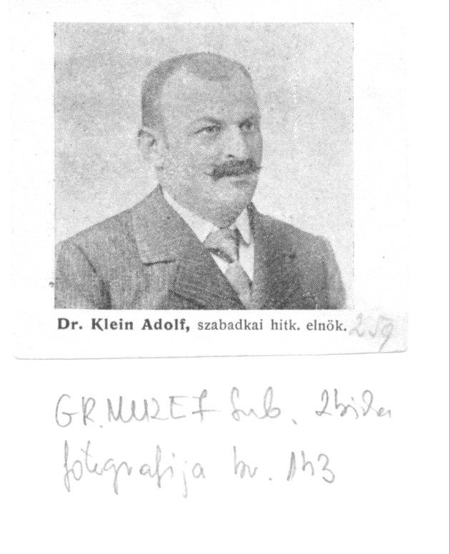 Klein dr Adolf slika