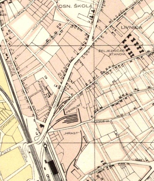 lokacije na 1928 Subotica