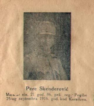 PERE SKENDEROVIC